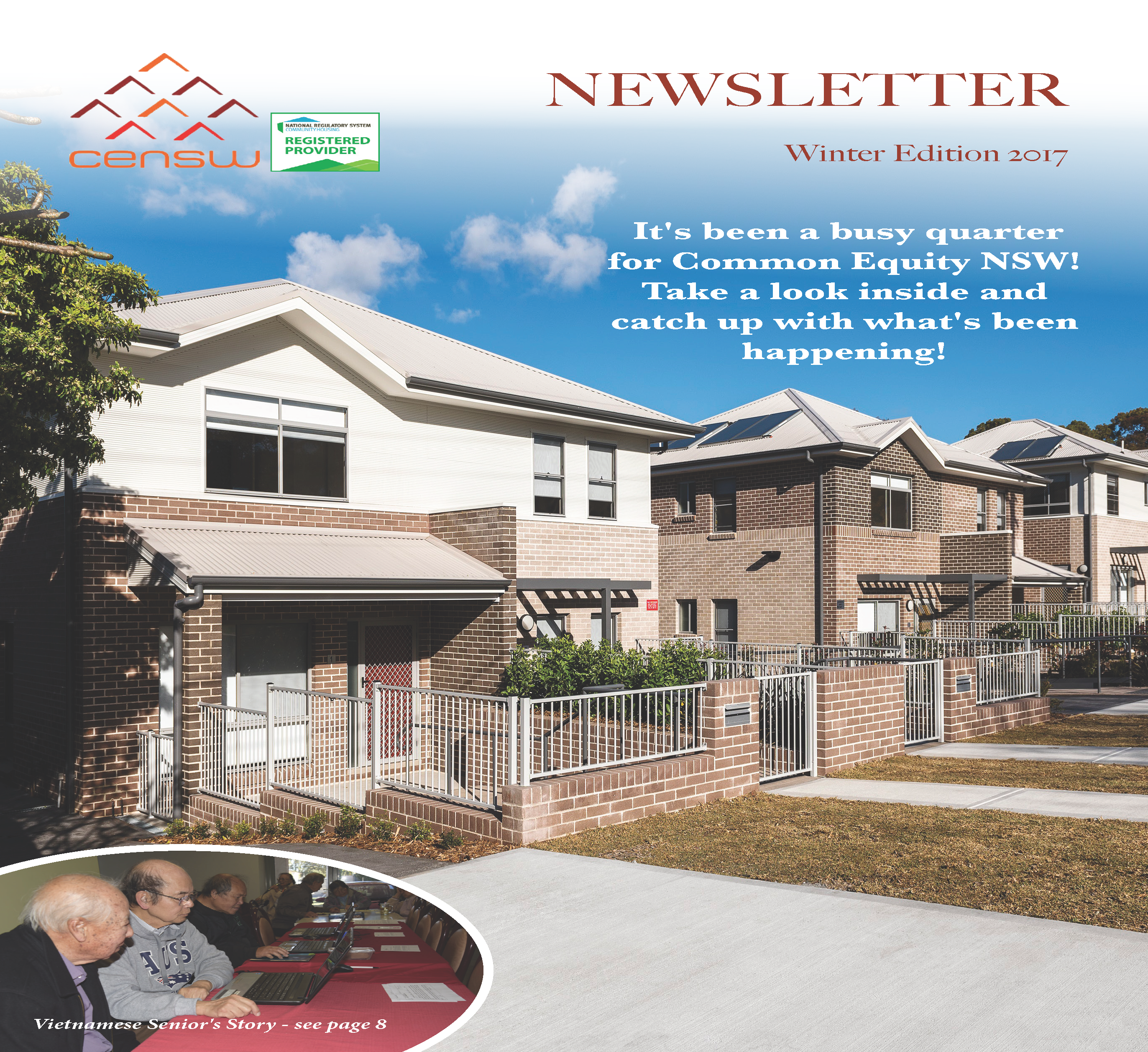 Common Equity NSW, Newsletter Winter Edition 2017